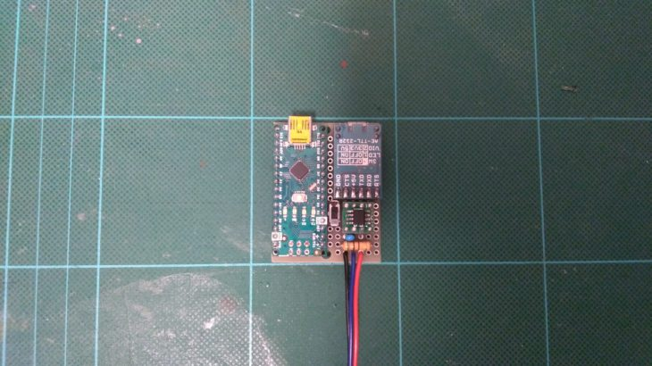 Arduinoを使ってカワサキのバイクから各種情報を取得するのを有線に変更した!