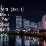 ジョギング記録【その4】