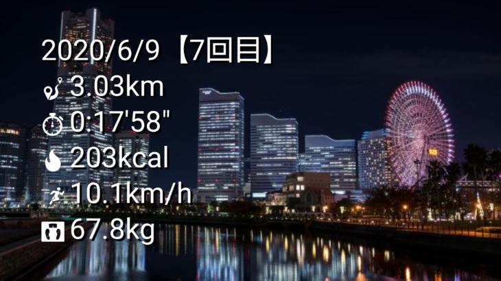 ジョギング記録【その7】