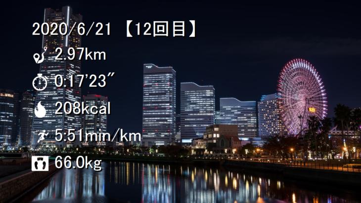ジョギング記録【その12】